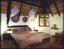 Djuma Private Game Reserve, Bush Lodge, Room Interior