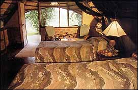 Fothergill Safari Lodge, Matusadona, Zimbabwe - Bedroom