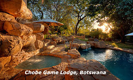 Chobe Game Lodge, Chobe National Park in Botswana, Safari packages, lodges and safari camps in Chobe