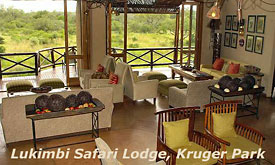 Lounge at Lukimbi Safari Lodge,Kruger Park, South Africa