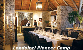 The Pioneer Camp, Londolozi Private Game Reserve, Sabi Sands, South Africa