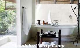 Bathroom at Londolozi Varty Camp, Londolozi Private Game Reserve