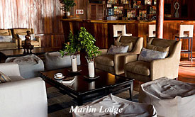 Lounge at Marlin Lodge, Luxury Island Lodge on the Bazaruto Archipelago in Mozambique