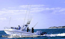 Deep Sea Fishing at Marlin Lodge,Mozambique
