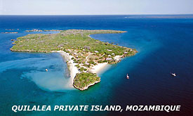 Quilalea Private Island, Mozambique Island Vacations,Holiday Packages to the Tropical Islands of Mozambique