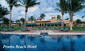 Pemba Beach Hotel, Mozambique Island Vacations,Holiday Packages to the Tropical Islands of Mozambique