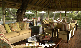 Sabi Sabi Selati Lodge, Sabi Sands, South Africa, Lounge at Selati Lodge