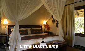 Bedroom at Sabi Sabi Little Bush Camp, Sabi Sabi Private Game Reserve
