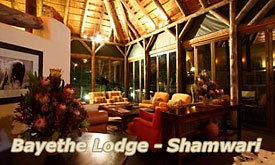 Shamwari Bayethe Lodge, Shamwari Private Game Reserve