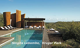 Singita Kruger park, fly in Safari Packages to Lebombo Lodge