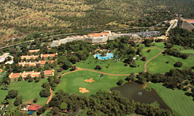 Sun City Holiday Resort in South Africa, The Sun City Main Hotel