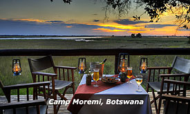 Botswana Safari Destinations, Camp Moremi, Moremi Reserve