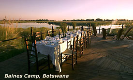 Baines Camp, Okavango Delta, Botswana Safari Vacations,Botswana Safari Packages,Botswana Safaris Tours