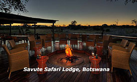 Botswana Safari Vacations, Savute Safari Lodge in Botswana