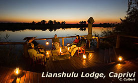 Lianshulu lodge, Caprivi Strip, Namibia Safari ,Namibia Safari Destinations, Namibia Tours & Safari Vacations