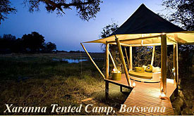 Xaranna Tented Camp, Andbeyond Botswana, Luxury Safaris in Botswana
