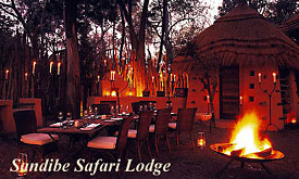 Sandibe Safari Lodge, Andbeyond Botswana, Luxury Safaris in Botswana