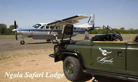 Andbeyond South Africa,Landing at Ngala Safari Lodge, Luxury African Safaris, Package Deals