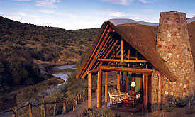 Kwandwe Private Game Reserve, Kwandwe Great Fish River Lodge
