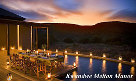Kwandwe Private Game Reserve, Kwandwe Melton Manor Private Safari Villa