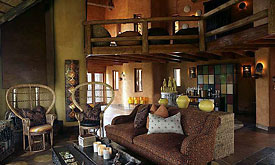 Lounge at Madikwe Safari Lodge,Madikwe Game Reserve