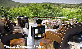 Safari Packages to Phinda Game Reserve, Phinda Mountain Lodge
