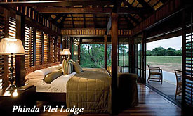 Safari Packages from Durban to Phinda Vlei Lodge