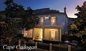 Cape Cadogan, Combine Cape Town and Lion Sands