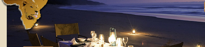 Rocktail Beach Camp, Beach Holiday Destination ion South Africa