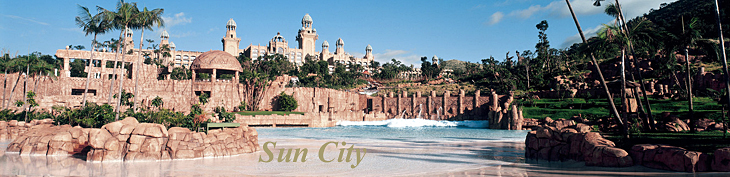 Palace of the Lost City, Luxury Hotel of the Sun City Holiday Resort in South Africa