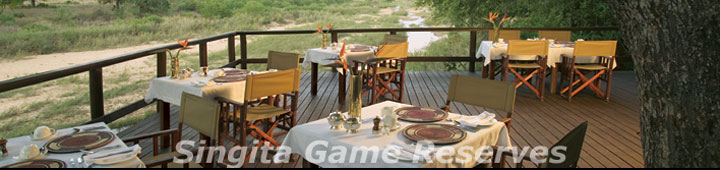 Singita Private Game Reserves, Singita Sabi Sands & Singita Kruger Park