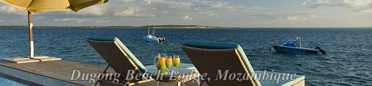 Located on the Dugong Beach in Mozambique, Dugong Beach Lodge is one of Mozambique's exclusive holiday destinations