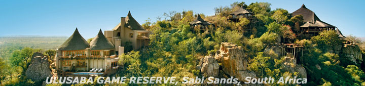 Ulusaba Safari Lodge, Luxury Safari Lodge in Sabi Sands, South Africa