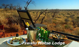 Viewing Deck at The Motse, Tswalu Kalahari Reserve
