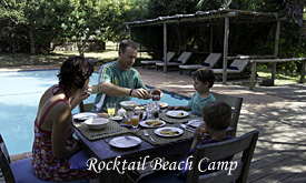 Rocktail Beach Camp, Family friendly Lodge