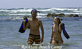 Rocktail Beach Camp, snorkelling