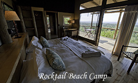 Rocktail Beach Camp, sroom