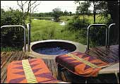 Djuma Game Reserve, Vuyatela Lodge - Private viewing deck and plunge pool