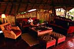 Chitabe Safari Camp Botswana. Lounge