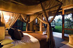 Sandibe Safari Lodge, Andbeyond Safari Camps in Botswana