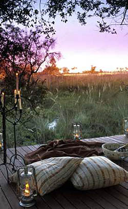 Sandibe Safari Lodge, Luxury Safari Camp on teh Okavango Delta in Botswana