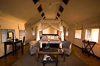 Tented Room at Gorah Elephant Camp, Addo Elephant Park, South Africa