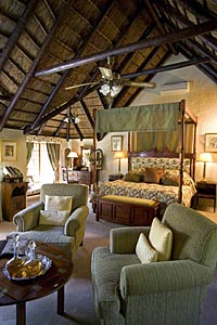 Forest Suite at Hunters Country House, Guest House on the Garden Route near Plettenberg Bay in South Africa
