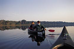 Canoeing at Kosi Forest Lodge, Kosi Bay, South Africa