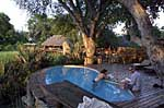Mombo Safari Camp in Botswana. Located in Mombo Island, Mombo Camp is renowned as one of the best game areas in Africa