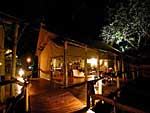 Tubu Tree Camp, traditional style Tented Safari Camp in Botswana.